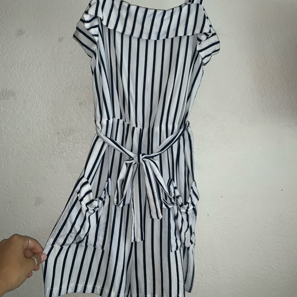 Cotton On Pants - Cotton on striped romper